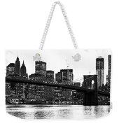 Manhattan 1 Weekender Tote Bag
