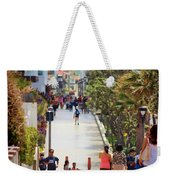 Manhattan Beach Boardwalk Weekender Tote Bag