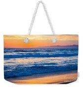 Manhattan Beach Sunset Weekender Tote Bag