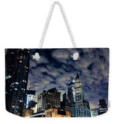 Manhattan Bound Version A Weekender Tote Bag