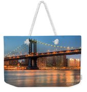Manhattan Bridge I Weekender Tote Bag