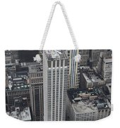 Manhattan City Canyons Weekender Tote Bag