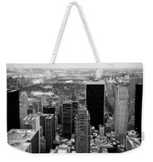 Manhattan Weekender Tote Bag by Dave Bowman