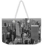Manhattan Nyc Weekender Tote Bag