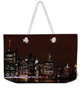 Manhattan On Super Weekend Weekender Tote Bag