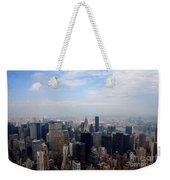 Manhattan Overview Weekender Tote Bag