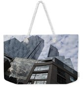 Manhattan Sky And Skyscrapers Weekender Tote Bag