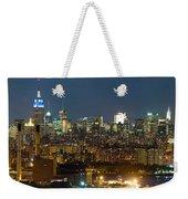 Manhattan Skyline, New York City, New Weekender Tote Bag