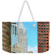 Manhattan Skyscrapers Weekender Tote Bag