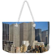 Manhattan Urban Jungle Weekender Tote Bag