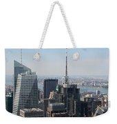 Manhattan View 2012 Weekender Tote Bag