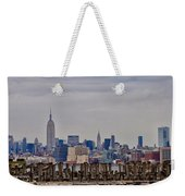 Manhattan View Weekender Tote Bag