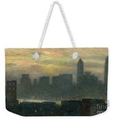 Manhattans Misty Sunset Weekender Tote Bag