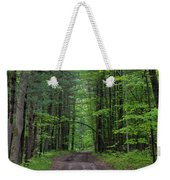 Manistee National Forest Michigan Weekender Tote Bag