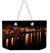 Manistee River Channel 2 Weekender Tote Bag