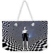 Mankinds Use Of Binary Language Weekender Tote Bag
