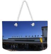 Manly Wharf Weekender Tote Bag