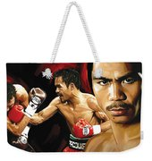 Manny Pacquiao Artwork 2 Weekender Tote Bag