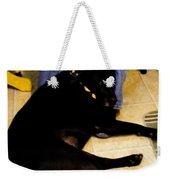 Man's Best Friend Weekender Tote Bag