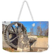 Mansfield Mill Water Wheel Weekender Tote Bag