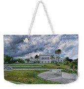 Mansion At Tuckahoe In Jensen Beach Florida Weekender Tote Bag