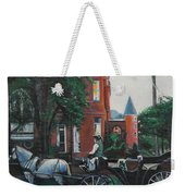 Mansion On Forsythe Savannah Georgia Weekender Tote Bag