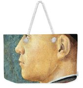 Mantegna's Portrait Of A Man Weekender Tote Bag