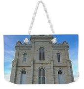 Manti Temple East Side Weekender Tote Bag