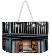 Manual Pipe Organ Weekender Tote Bag