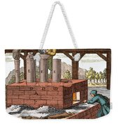 Manufacture Of Arsenic, 1704 Weekender Tote Bag