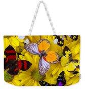 Many Butterflies On Mums Weekender Tote Bag