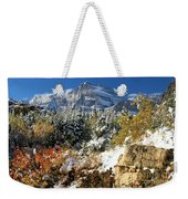 Many Glacier Colors Weekender Tote Bag