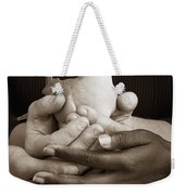 Many Hands Holding A Dove Weekender Tote Bag