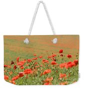 Many Poppies Weekender Tote Bag