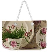 Many Rose Designs Still Life  Weekender Tote Bag