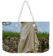 Many Sculptures Lost Their Heads In Ephesus-turkey Weekender Tote Bag