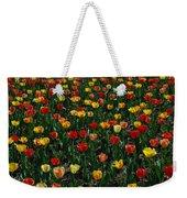Many Tulips Weekender Tote Bag