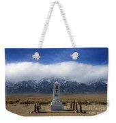 Manzanar National Historic Site Weekender Tote Bag