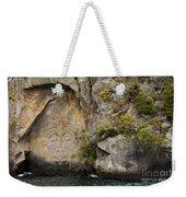 Maori Rock Art Weekender Tote Bag