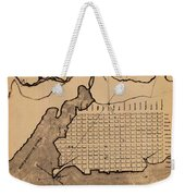 Map Of Alexandria 1798 Weekender Tote Bag