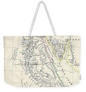 Map Of Ancient Egypt Weekender Tote Bag