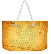 Map Of Detroit Michigan C 1835 Weekender Tote Bag