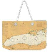 Map Of Lake Ontario 1904 Weekender Tote Bag