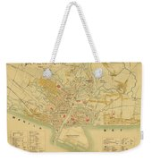 Map Of Manila 1899 Weekender Tote Bag