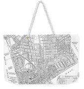 Map Of New York City, 1803 Weekender Tote Bag