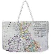 Map Of The British Isles  Weekender Tote Bag