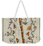 Map Of The Island Corsica Weekender Tote Bag