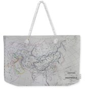 Map Of The Mongol Empire In Asia And Europe Weekender Tote Bag