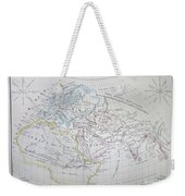 Map Of The World According To The Ancients Weekender Tote Bag