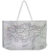 Map Of Turkey Or Asia Minor In Ancient Times Weekender Tote Bag